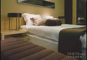 大连国际公寓酒店卧室