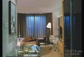 大连国际公寓酒店窗帘