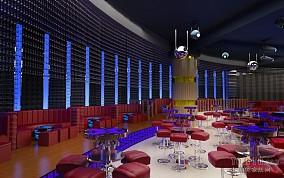 酒吧大厅沙发设计效果图