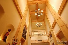 豪华古典美式家装过道设计