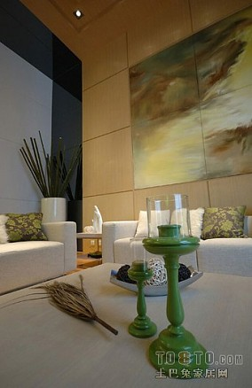 简欧设计三居室客厅图片大全