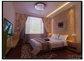 100平米三室两厅房屋卧室