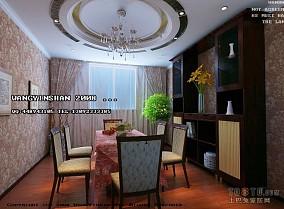 简欧风格别墅客厅布置效果图