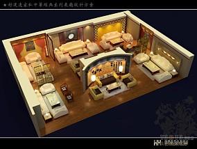 装修设计室内卧室飘窗