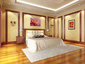 复古欧式设计客房图片