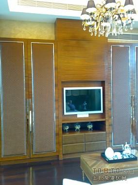 现代高档豪华木结构别墅室内图片