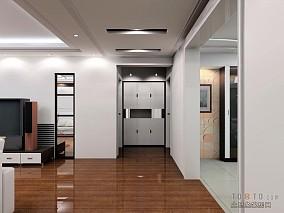 2018127平米四居装修设计效果图