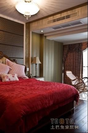 热门面积135平复式卧室混搭欣赏图