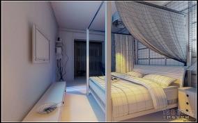 卧室转角飘窗设计