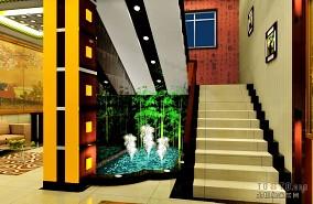 酒店大厅喷泉装修设计
