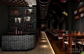 酒吧收银台设计效果图