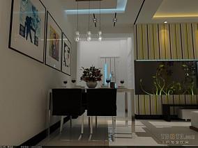 时尚现代简约客厅地板