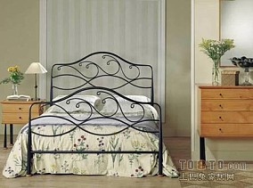 小卧室简欧窗帘装修效果图