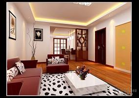 仿古瓷砖客厅