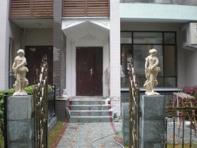 现代别墅室外花园设计