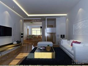 休闲80平米2室一厅效果图