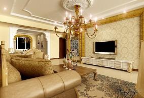 新古典风格室内软装饰图片