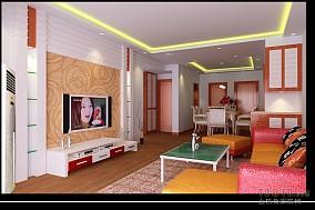 豪华中式别墅室内吊顶装修图片
