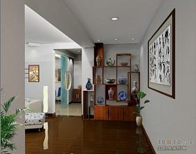 甜美一室一厅变两室一厅图片
