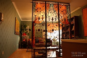 83平米混搭小户型客厅实景图