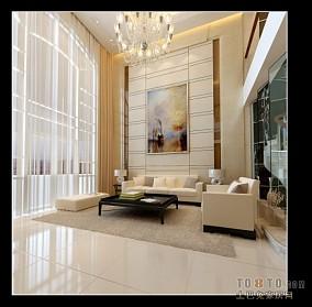 豪华别墅客厅设计图片大全欣赏
