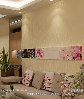 客厅沙发背景照片墙