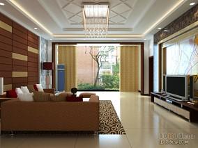 精美140平方四居客厅混搭装修设计效果图片大全