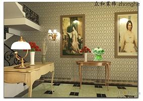 三居室装修风格过道设计