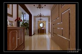 时尚复古混搭客厅装修