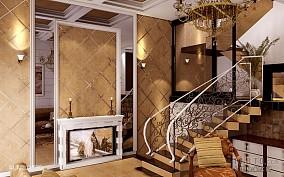 复古简欧风格客厅