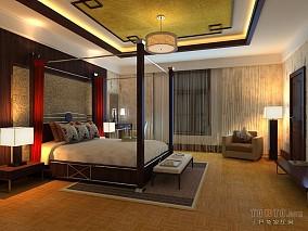 现代休闲家居卧室