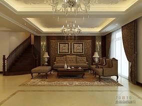 现代90平米3居室房屋图片