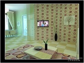 中式家装影院效果图