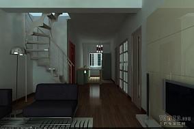 客厅罗马柱装修效果图