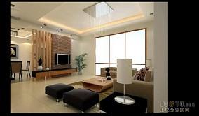 现代简中式客厅装饰