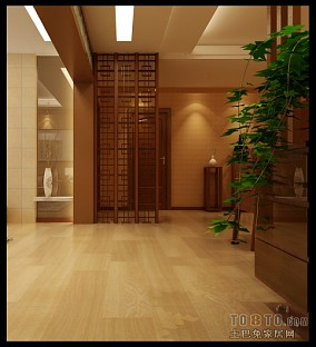 现代90平米2室2厅图片