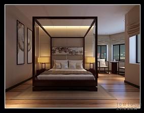 潮流现代中式大厅设计图片