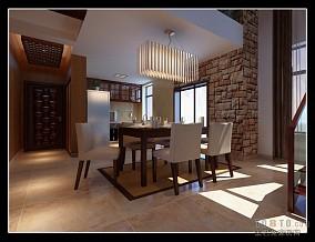 浪漫现代中式大厅设计图片