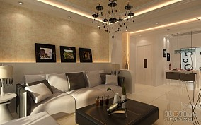 实用三室一厅120平米图片