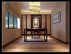 温馨现代中式大厅设计图片