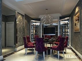 简美室内欧式风格效果图