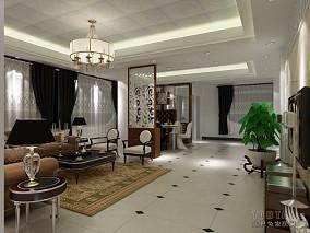 文艺简约风格客厅设计