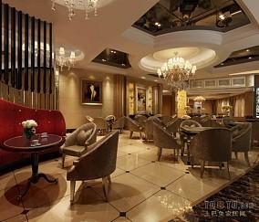 别墅装修中式古典客厅图片