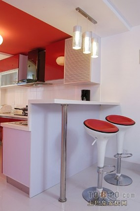 热门108平方三居厨房混搭装修设计效果图