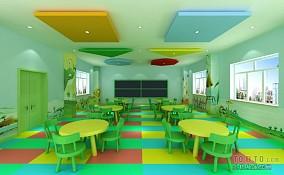 幼儿园教室布置效果图欣赏
