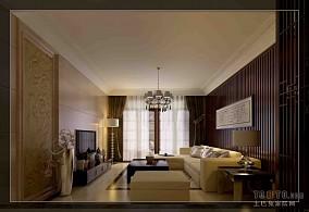 精选92平米3室客厅混搭装修设计效果图片欣赏