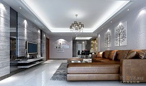 清美美式地中海风格卧室图