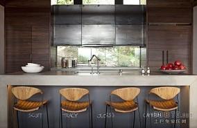 120平米欧式复式餐厅欣赏图片大全