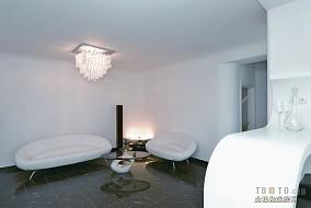 热门109平米三居客厅简约装修设计效果图片欣赏