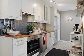 热门面积122平复式厨房欧式装修效果图片大全